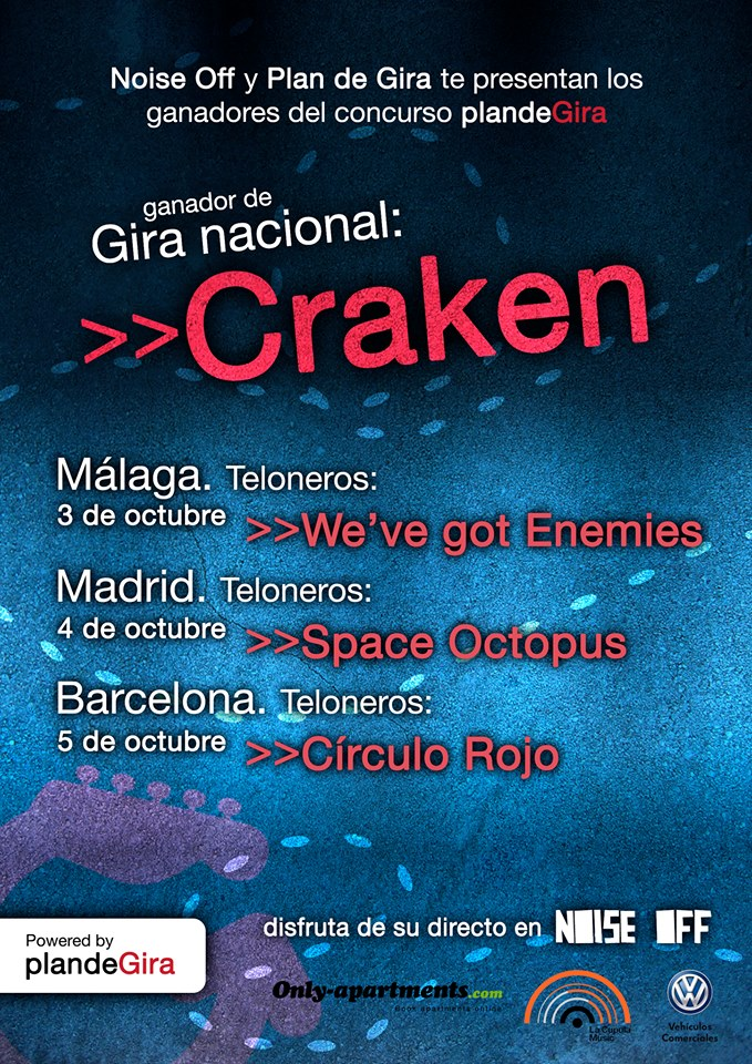 Craken + We've got enemies